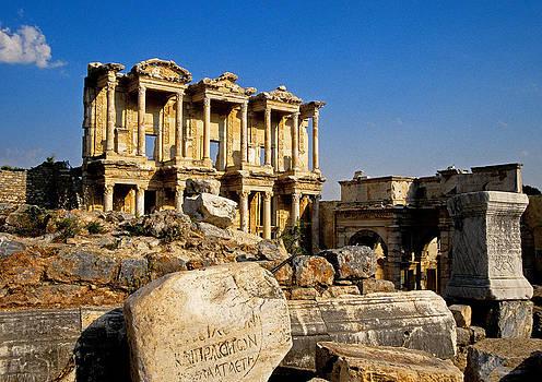 Dennis Cox - Ephesus library 3