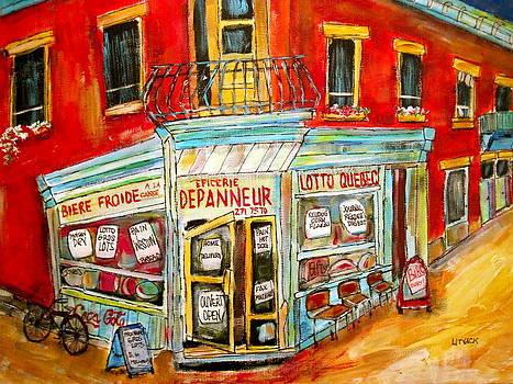 Epicerie Depanneur  by Michael Litvack