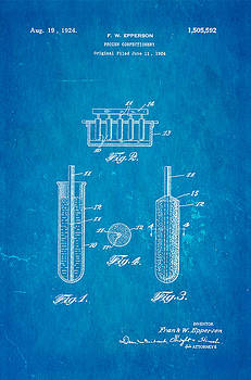 Ian Monk - Epperson Popsicle Patent Art 1924 Blueprint