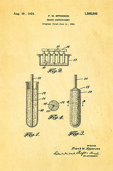 Ian Monk - Epperson Popsicle Patent Art 1924