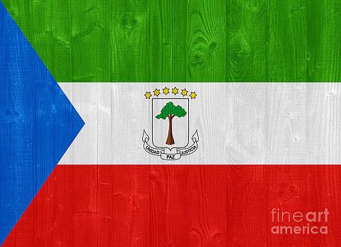 Equatorial Guinea flag by Luis Alvarenga