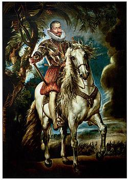 Peter Paul Rubens - Equestrian Portrait of the Duke of Lerma