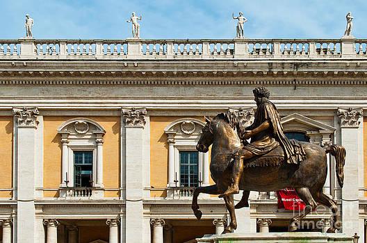 Equestrian Statue of Marcus Aurelius by Luis Alvarenga