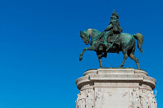 Equestrian Statue to Victor Emmanuel II in Rome by Luis Alvarenga