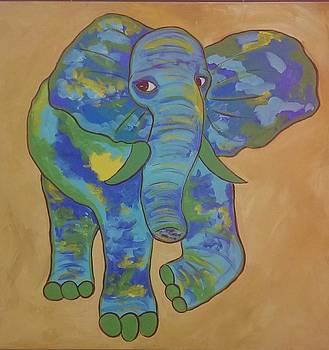 Eratic Elephant by Judi Goodwin
