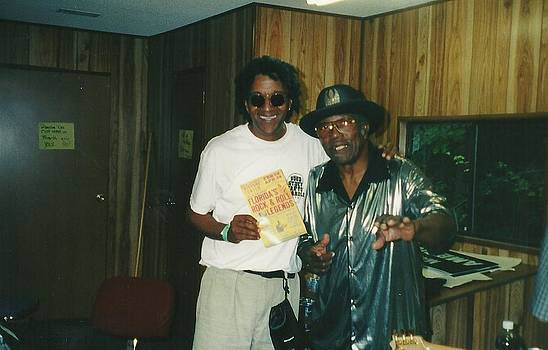 Eric E and Bo Diddley by Otis L Stanley