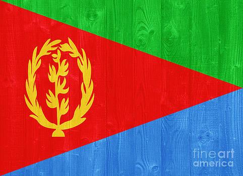 Eritrea flag by Luis Alvarenga