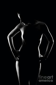 Erotic contour  by Jochen Schoenfeld