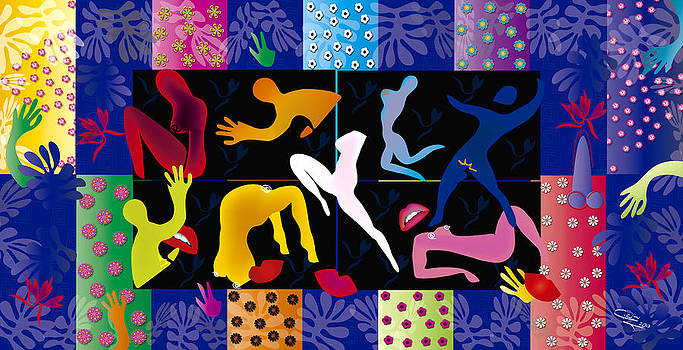 Erotic Matisses - Limited edition 2 of 8 by Gabriela Delgado