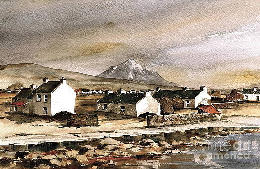 Val Byrne - Errigal from Gola Island Donegal