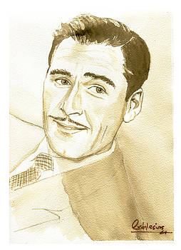 Errol Flynn by David Iglesias