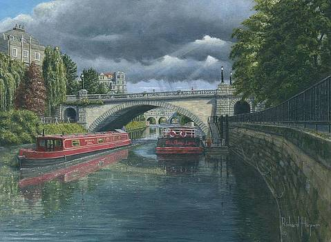 Escaping the Storm North Parade Bridge Bath by Richard Harpum
