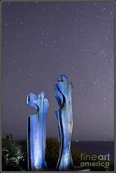 Esculturas azules by Agus Aldalur