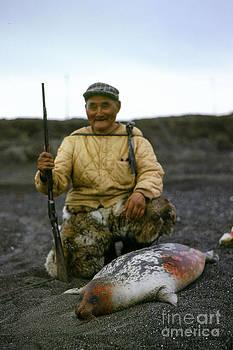 California Views Archives Mr Pat Hathaway Archives - Eskimo Seal hunter Barrow Alaska July 1969 Pat Hathaway photo