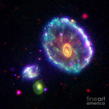 Science Source - Eso 350-40 Cartwheel Galaxy