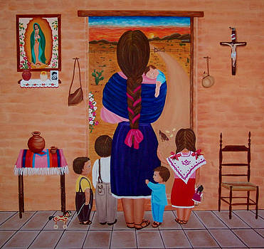 Esperando a Papa by Evangelina Portillo