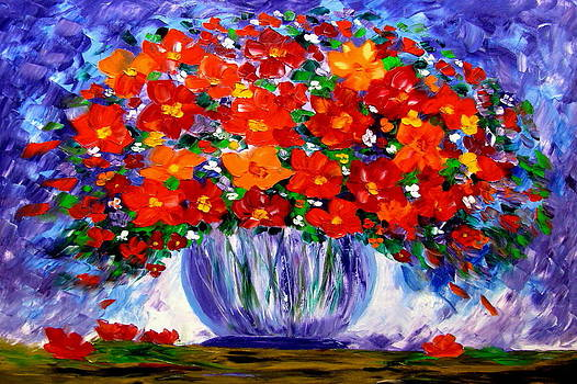 Essence of flowers by Mariana Stauffer
