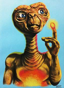 E.T. the Extra Terrestrial  by Brent Andrew Doty