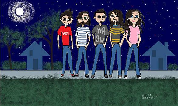 Ethan's Friends December 2013 by Ethan Altshuler