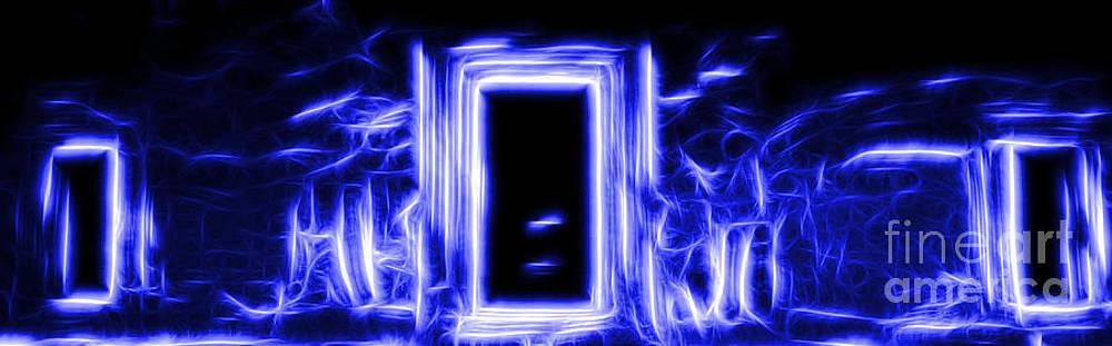 Ethereal Doorways Blue by Matthew Naiden