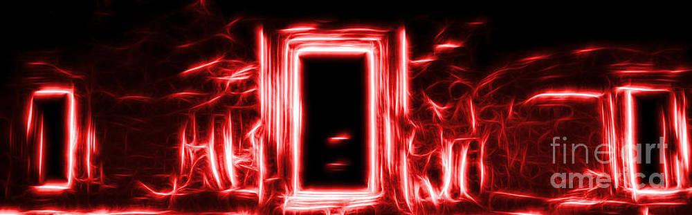Ethereal Doorways Red by Matthew Naiden