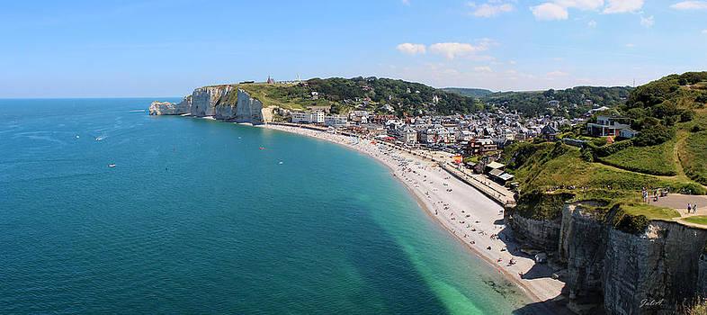 Julia Fine Art And Photography - Etretat Normandy Panorama