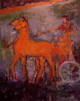 Etruscan fresco by R W Goetting
