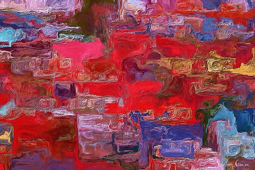 Etude in Red by Rein Nomm