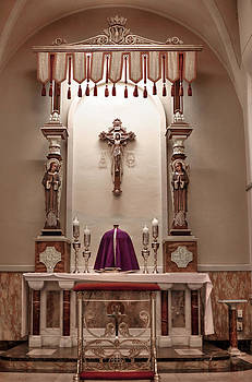 Eucharistic Altar by Cecil Fuselier