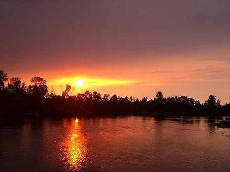 Eugene Sunset by Carol Cabler