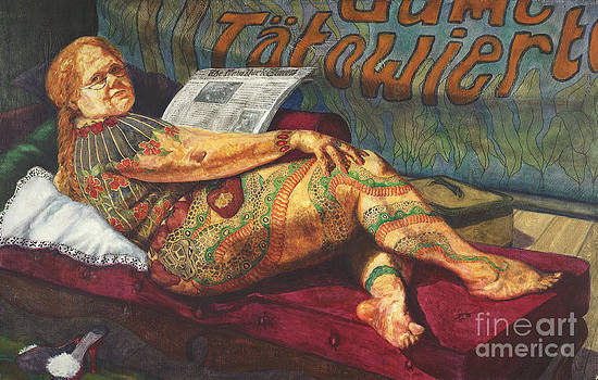 Eva Grand Dame Tatowierte by Cheryl Myrbo