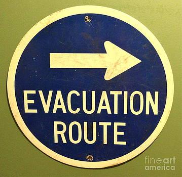 M West - Evacuation Route