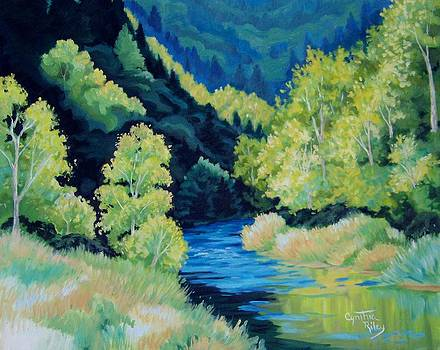 Evans Creek by Cynthia Riley