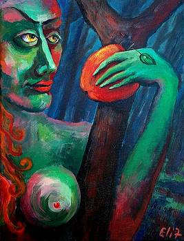 Elisheva Nesis - EVE WITH HER OWN SERPENT