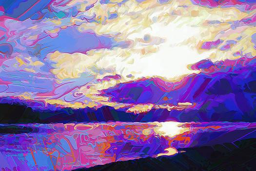 Dorinda K Skains - Evening Abstract