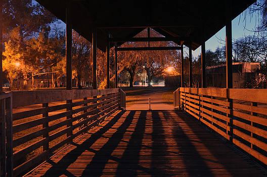 Evening at Rusch Park by Mischelle Lorenzen