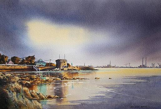 Evening At Seapoint by Roland Byrne