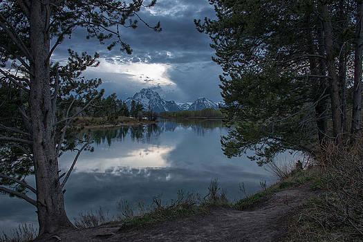 Evening at the Bend by Darlene Bushue