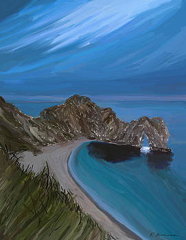 Eliza Donovan - Evening at Durdle Door
