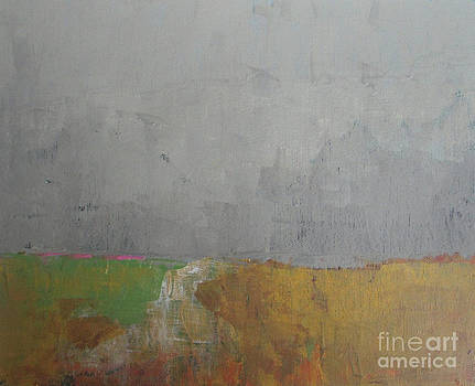Evening Fields by Vesna Antic