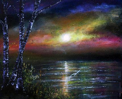 Evening Flight by Ann Marie Bone