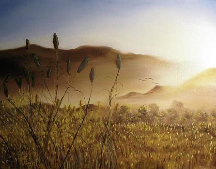 Evening Flight by Robert Benton
