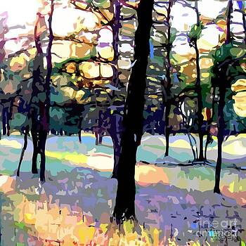 Evening Forest by Sharon Marcella Marston
