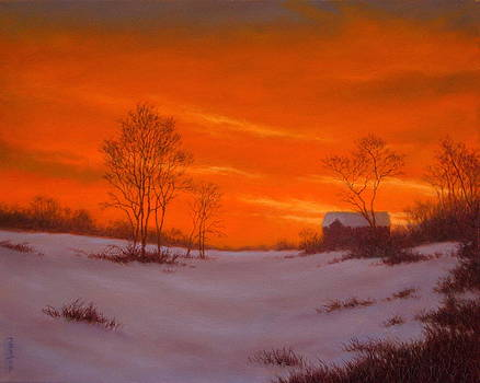 Evening Glory by Barry DeBaun