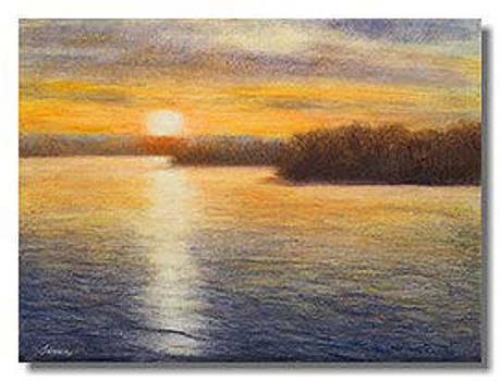 Evening Glow by Liron Sissman