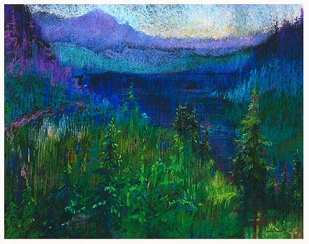 Evening In The Mountains by Dale  Witherow