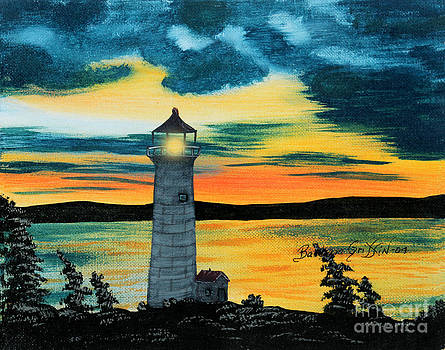 Barbara Griffin - Evening Light - Lighthouse