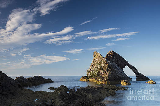Evening light on Bowfiddle Rock by Howard Kennedy
