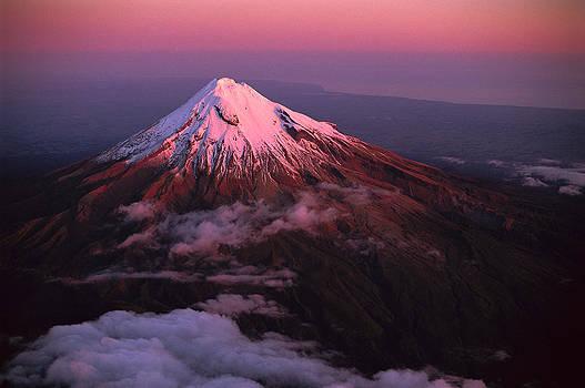 Rob Brown - Evening Light On Mt Taranaki