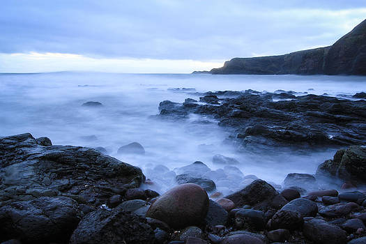 Evening Mist - Scotland  by Arianna Petrovan